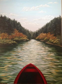 """Autumn on the River"""